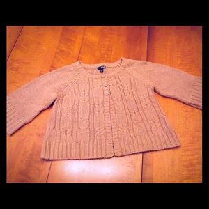 a.n.a Beige Shrug Sweater-PL *G665*